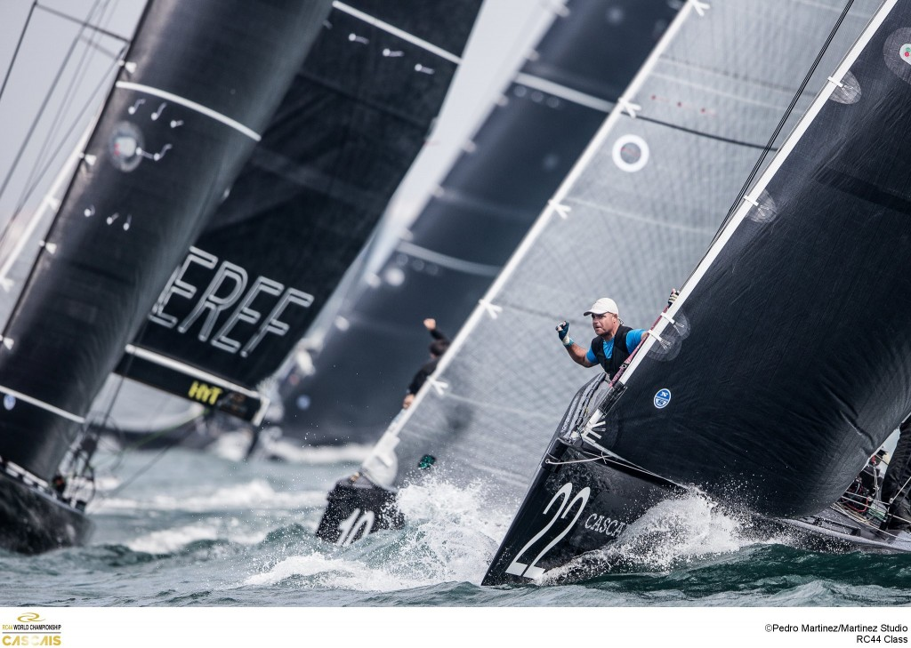 RC44 world championships Cascais 1