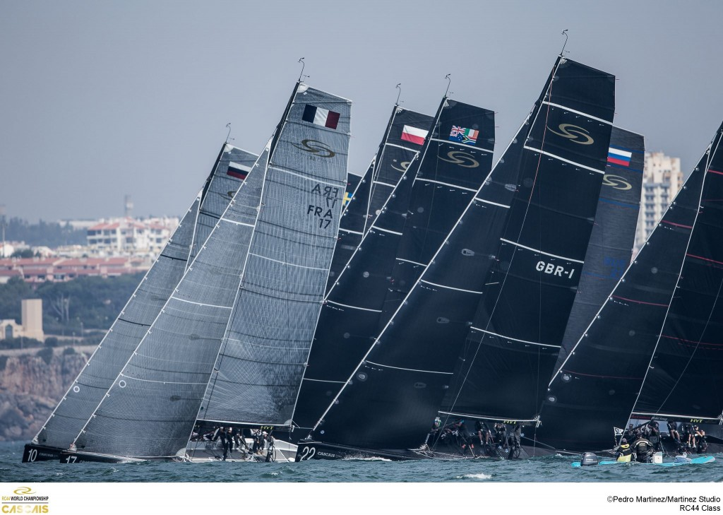 RC44 world championships Cascais 3