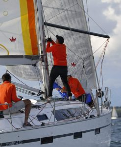 Bavaria 41s Regattatraining Biograd
