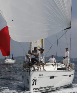 Bavaria 41s Regattatraining Pitter Yachting